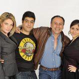 Familia Berhanyer, en la tercera temporada de 'Perdidos en la tribu'
