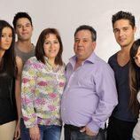 Familia Merino, en la tercera temporada de 'Perdidos en la tribu'