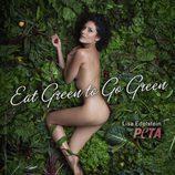 Lisa Edelstein posa desnuda para PETA