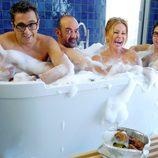 Ana Obregón en la bañera con Buenafuente, Corbacho y Berto