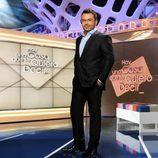 Jorge Javier Vázquez en el plató de su nuevo programa