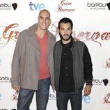Nasser Saleh en el preestreno de la tercera temporada de 'Gran Reserva'
