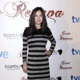 Paula Prendes en la premiere de la tercera temporada de 'Gran Reserva'