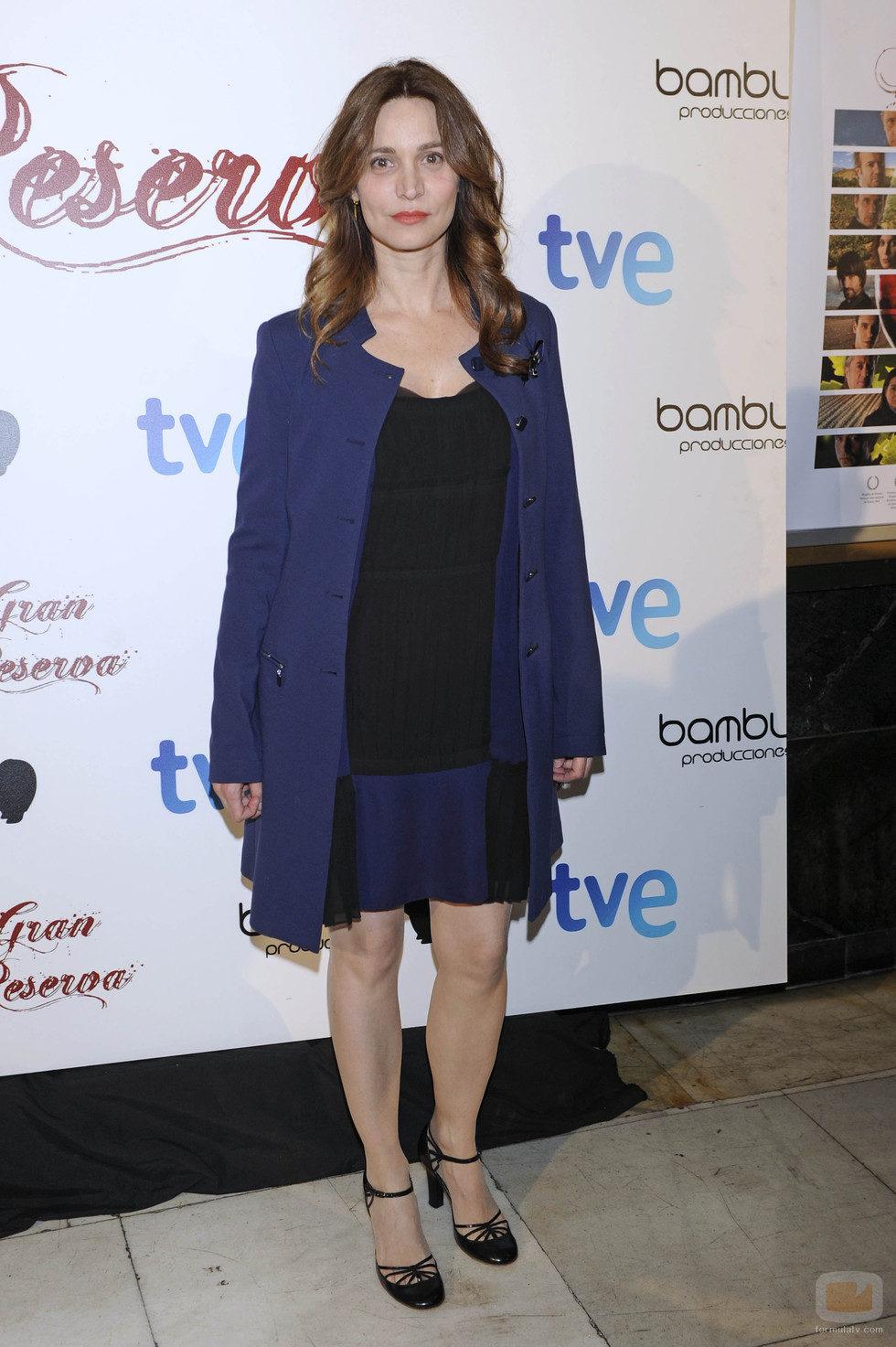 Ana Risueño en la premiere de la tercera temporada de 'Gran Reserva'
