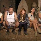La familia San Sebastián en el consejo tribal