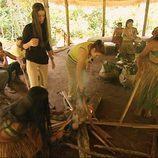 Las mujeres de los Merino hacen la comida