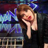 Angy Fernández en el plató de 'Avanti'