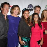 El equipo de 'Mujeres desesperadas' en la fiesta del final de la serie