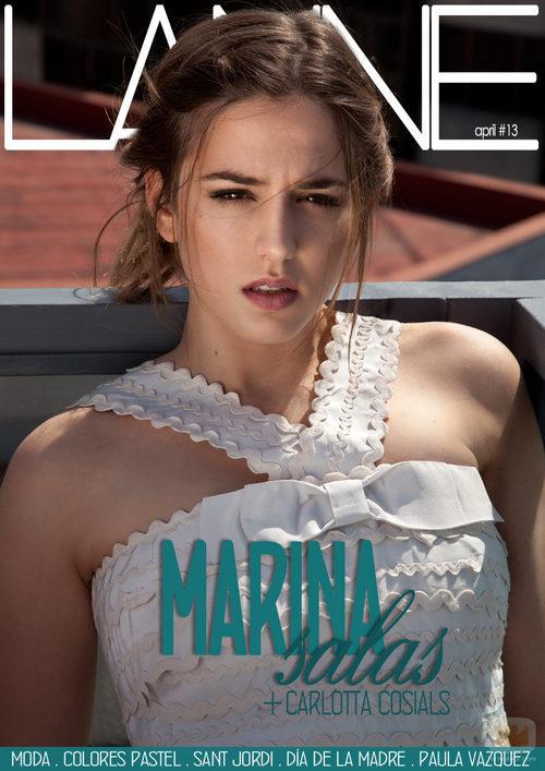 Marina Salas en la portada de Lanne Magazine