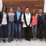 Rafa Méndez, Soraya, Rafael Lozano, Falete, Ana Fernández y Agustín Jiménez