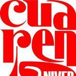 Logotipo del 40º aniversario del 'Un, dos, tres... responda otra vez'