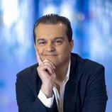 El presentador, Ramón García, sonríe en su programa