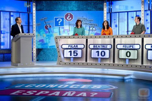 El concurso de las tardes de La 1, '¿Conoces España?'