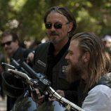 Imagen del primer capítulo de la cuarta temporada de 'Hijos de la anarquía'