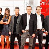 Los presentadores de 'Noticias Cuatro Deportes'