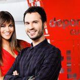 Lara Álvarez y Luis García