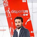Juanma Castaño de 'Noticias Cuatro Deportes'