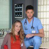 Elsa Herrera y José Lamuño en la nueva temporada de 'Hospital Central'