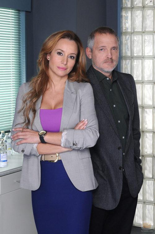 Jordi Rebellon y Mar Regueras en la nueva temporada de 'Hospital Central'