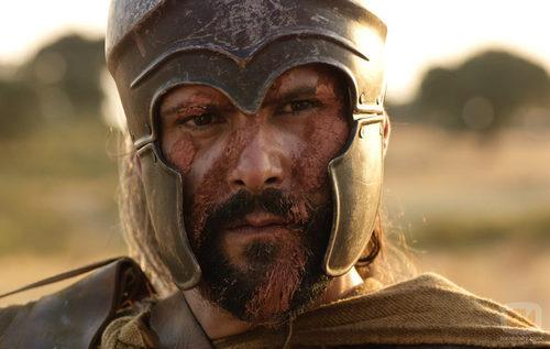 Viriato preparado para la batalla final de 'Hispania'