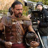 Roberto Enríquez y Alfonso Bassave ruedan la tercera temporada de 'Hispania'