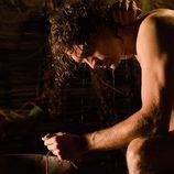 Iván Sánchez desnudo en la temporada final de 'Hispania'