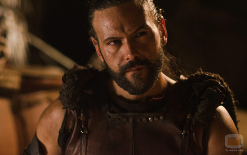 Roberto Enríquez interpreta a Viriato en la tercera temporada de 'Hispania'