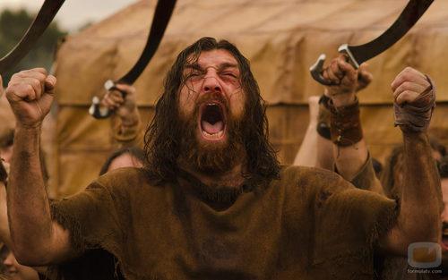 Sandro (Hovik) grita en la tercera temporada de 'Hispania'