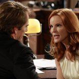 Bree discute con su abogado Trip Weston en el último episodio de 'Mujeres Desesperadas'