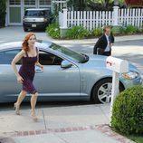 Marcia Cross y Scott Bakula en una escena del último episodio de 'Mujeres Desesperadas'
