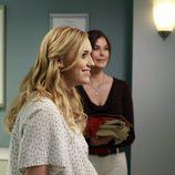Julie Mayer embarazada en el último capítulo de 'Mujeres Desesperadas'