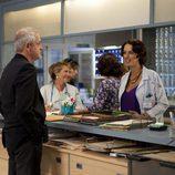 Jordi Rebellón en una escena de la temporada 20 de 'Hospital Central'