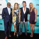 L. A. Reid, Demi Lovato, Simon Cowell y Britney Spears