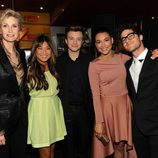 El reparto de 'Glee' en los Upfronts de Fox