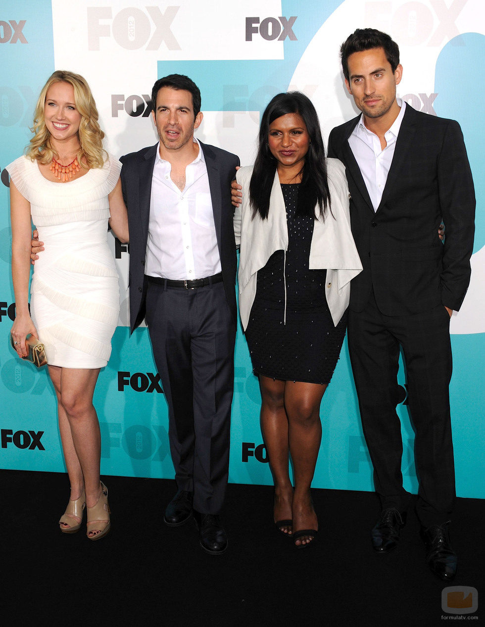 El reparto de 'The Mindy Project' en los Upfronts de Fox