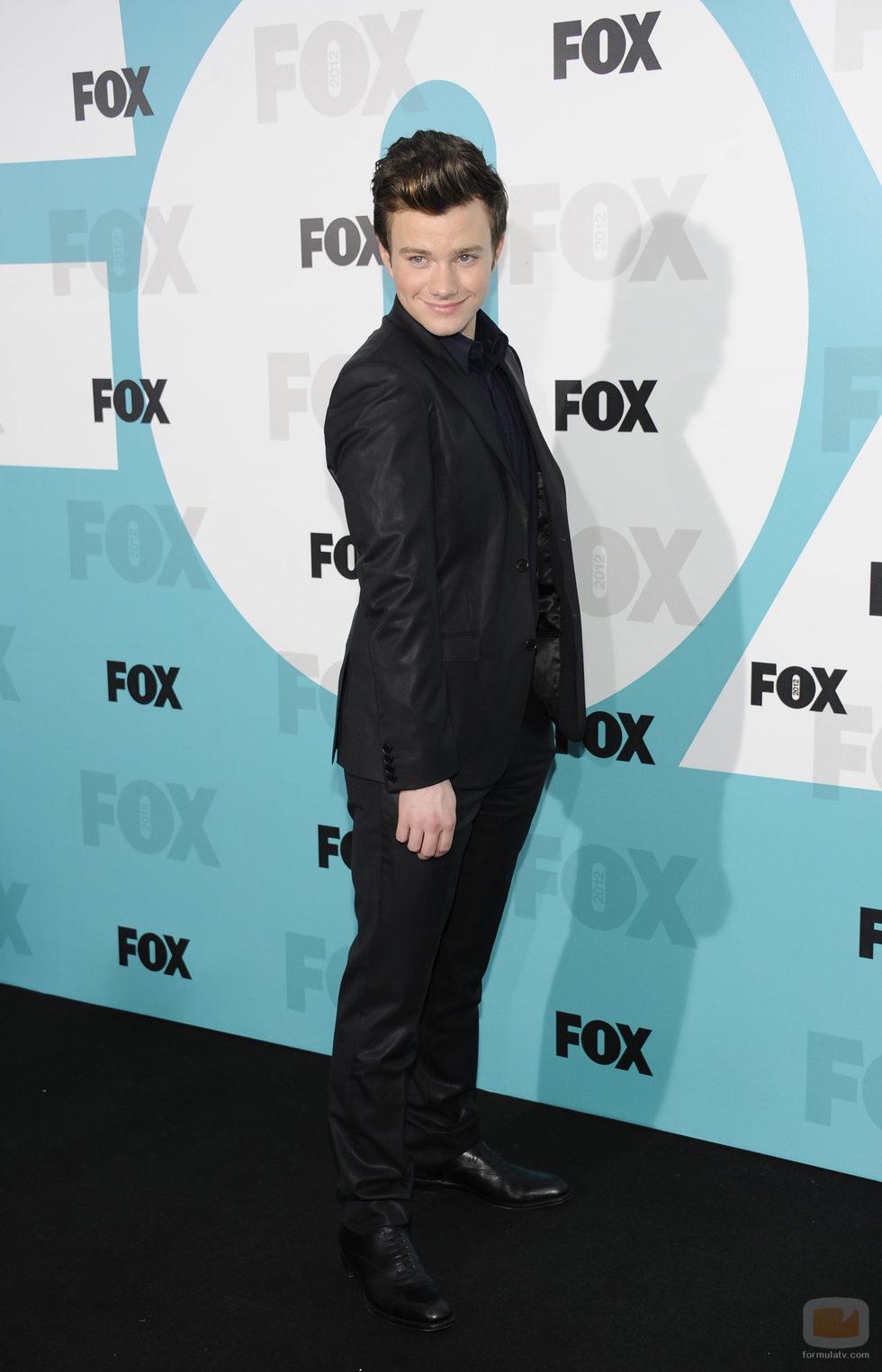 Chris Colfer en los Upfronts 2012