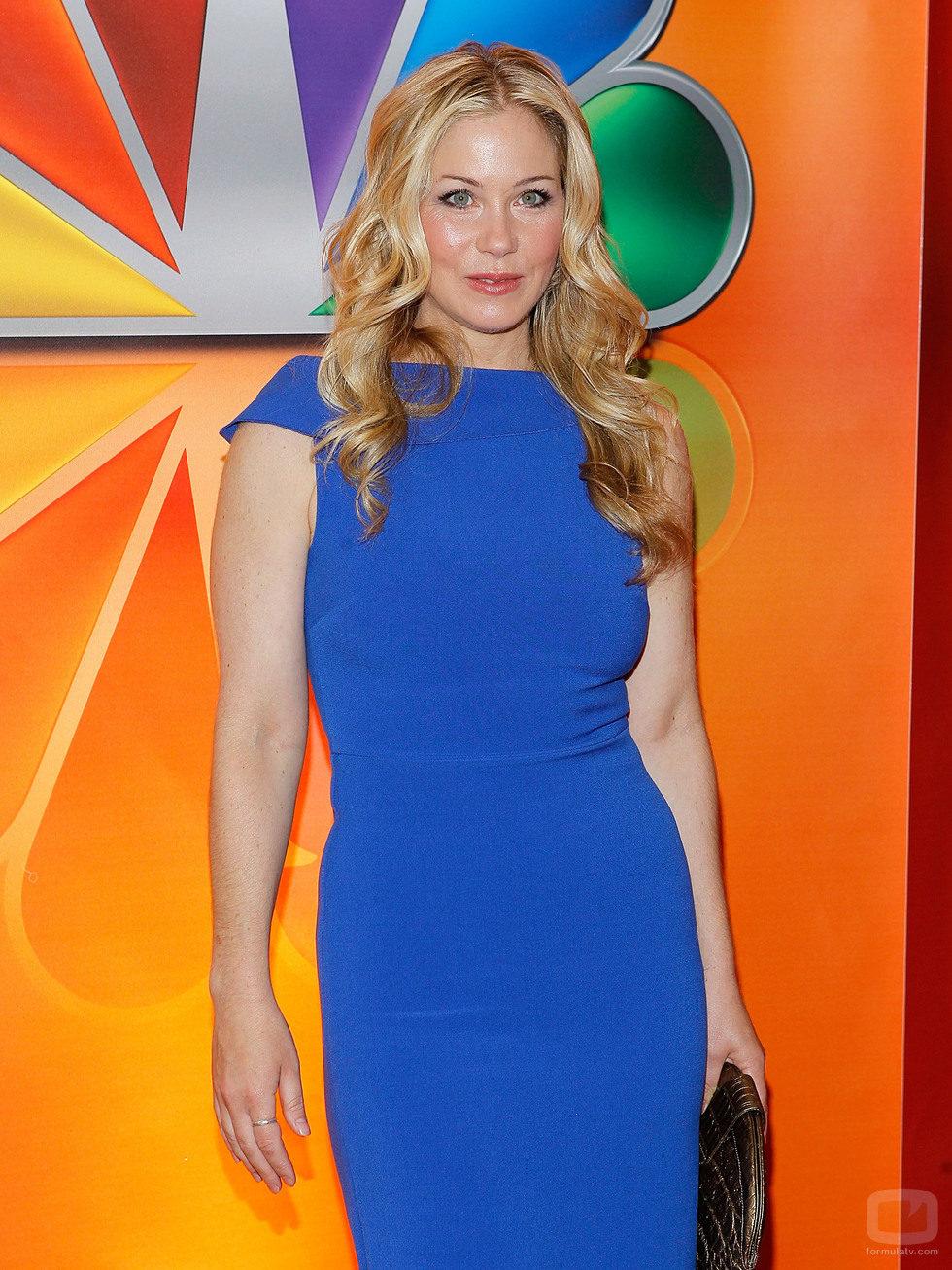 Christina Applegate en los Upfronts 2012 de NBC