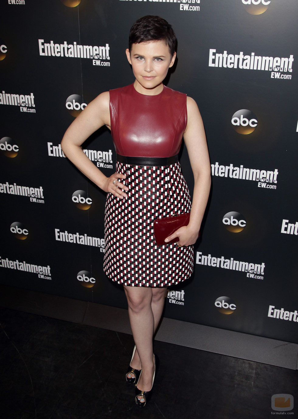 Ginnifer Goodwin de 'Once Upon a Time' en los Upfronts 2012 de ABC