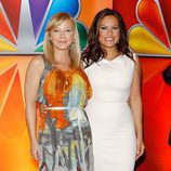 Kelli Giddish y Mariska Hargitay en los Upfronts 2012 de NBC
