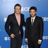 Jason Segel y Josh Radnor de 'Cómo conocí a vuestra madre' en los Upfronts 2012 de CBS