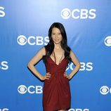 Lucy Liu de 'Elementary' en los Upfronts 2012 de CBS