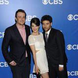 Jason Segel, Cobie Smulders y Josh Radnor en los Upfronts 2012 de CBS