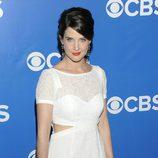 Cobie Smulders de 'Cómo conocí a vuestra madre' en los Upfronts 2012 de CBS