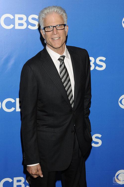Ted Danson de 'CSI' en los Upfronts 2012 de CBS