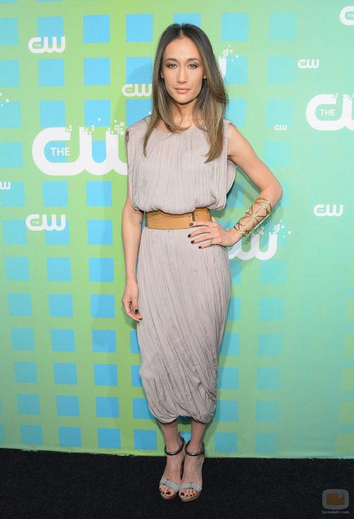 Maggie Q de 'Nikita' en los Upfronts 2012 de The CW