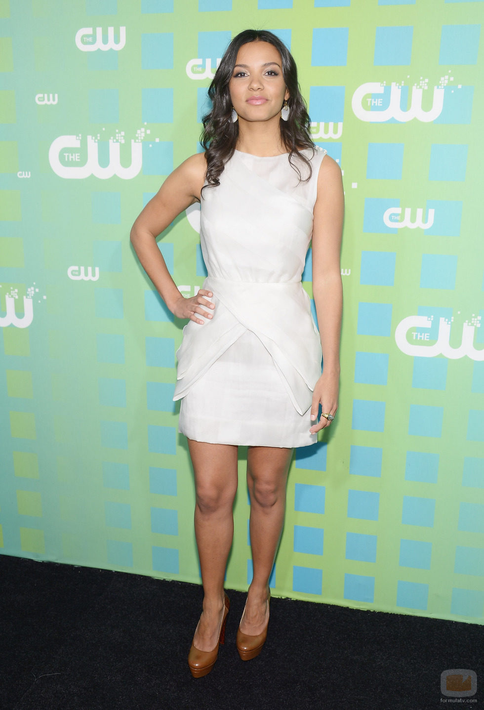 Jessica Lucas de 'Cult' en los Upfronts 2012 de The CW