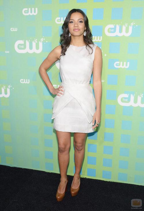 Jessica Lucas de 'Cult' en los Upfronts 2012 de The CW