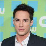 Michael Trevino de 'Crónicas vampíricas' en los Upfronts 2012 de The CW