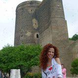 Pastora Soler en la Torre de la Dama de Baku