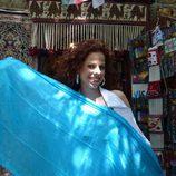 Pastora Soler en el bazar de Baku